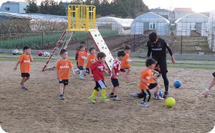 課外活動 バリエンテサッカー(金曜)