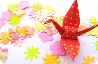 ママと折り紙